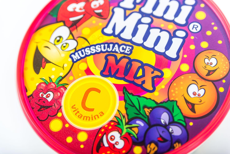 Fini Mini opakowanie typu box - cukierek powitalny